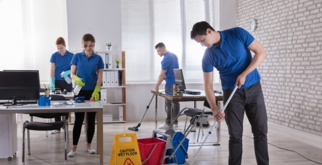 Office Cleaners in Flintshire